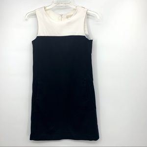 S MaxMara Colorblock Black White Career Dress 8